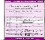 Krönungs-Messe. KV 317 CD Alto - MOZART - Partition - laflutedepan.com