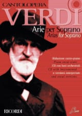 Arie For Soprano. Volume 1 VERDI Partition Opéras - laflutedepan.com