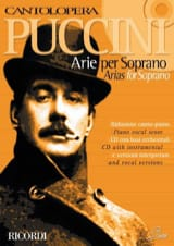 Giacomo Puccini - Arie For Soprano - Sheet Music - di-arezzo.co.uk