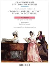 Grandi Operisti Per Giovani Cantanti. Basse laflutedepan.com