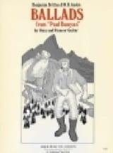 Benjamin Britten - Ballades. Paul Bunyan - Partition - di-arezzo.fr