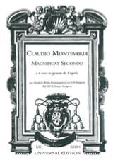 Claudio Monteverdi - Magnificat Secondo - Partition - di-arezzo.fr