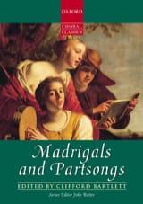 Madrigals And Partsongs Partition Chœur - laflutedepan.com