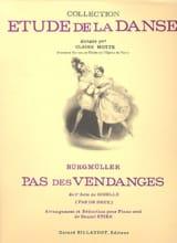 Pas des Vendanges. Giselle Frédéric Burgmuller laflutedepan.com