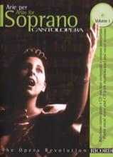 Arie Per Soprano Volume 1 Partition Opéras - laflutedepan.com