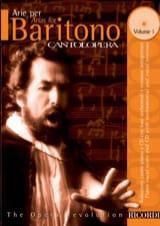 Arie Per Baritono Volume 1 Partition Opéras - laflutedepan.com