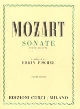 Sonates Volume 2 MOZART Partition Piano - laflutedepan.com