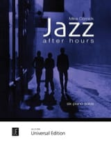 Jazz After Hours Mike Cornick Partition Piano - laflutedepan.com