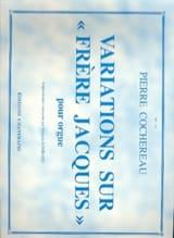 Variations sur Frère Jacques Pierre Cochereau laflutedepan.com