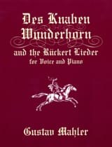 The Knaben Wunderhorn And Ruckert Lieder laflutedepan.com