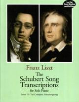 The Schubert Songs Transcriptions Serie 3 Franz Liszt laflutedepan.com
