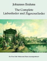 BRAHMS - The Complete Liebeslieder And Zigeuner Lieder - Sheet Music - di-arezzo.co.uk