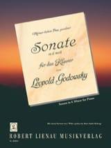 Sonate En Mi Mineur Godowsky Partition Piano - laflutedepan