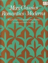 More Classics Romantics Moderns Partition Piano - laflutedepan.com