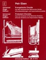 Evangelische Chorales Petr Eben Partition Orgue - laflutedepan.com