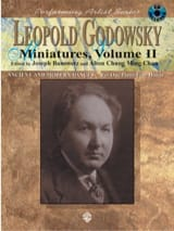 Leopold Godowsky - Miniatures, Volume 2 - 4 Mains - Partition - di-arezzo.fr