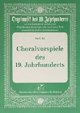 Choralvorspiele des 19 Jahrhunderts - Partition - laflutedepan.com
