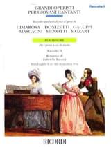 Grandi Operisti Per Giovani Cantanti Ténor Volume 2 - laflutedepan.com