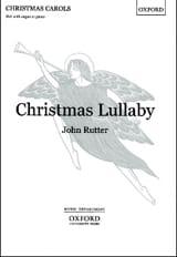 Christmas Lullaby John Rutter Partition Chœur - laflutedepan.com