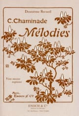 Cécile Chaminade - Melodies Volume 2. Mean Voice - Partitura - di-arezzo.es