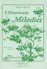 Cécile Chaminade - Volumen de melodías 1. Voz mala - Partitura - di-arezzo.es