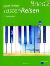 Randonnées sur le Clavier Volume 2 Daniel Hellbach laflutedepan.com