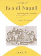 Eco Di Napoli Volume 2 Partition Mélodies - laflutedepan.com