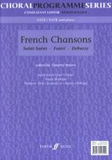 French Chansons Partition Chœur - laflutedepan.com