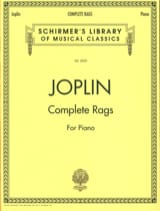 Scott Joplin - Complete Rags - Sheet Music - di-arezzo.co.uk