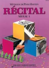 BASTIEN - Méthode de Piano Bastien - Récital Niveau 1 - Partition - di-arezzo.fr