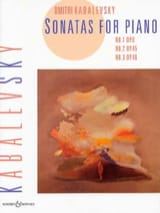 Dimitri Kabalevsky - Sonatas Opus 6, 45, 46 - Sheet Music - di-arezzo.co.uk