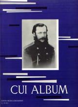 Album César Cui Partition Piano - laflutedepan.com
