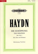 HAYDN - Creation - Sheet Music - di-arezzo.com