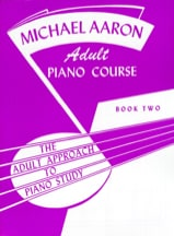 Piano Course Adulte Book 2 AARON Partition Piano - laflutedepan