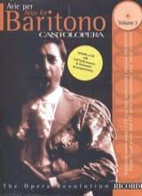 Arie Per Baritono Volume 3 - Partition - Opéras - laflutedepan.com