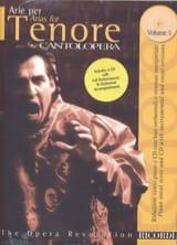 Arie Per Tenore Volume 3 Partition Opéras - laflutedepan.com