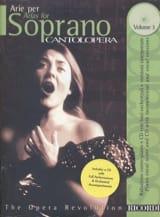 Arie Per Soprano Volume 3 Partition Opéras - laflutedepan.com