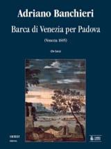 Barca Di Venetia Per Padova. Adriano Banchieri laflutedepan.com