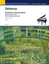 Pièces Célèbres Pour Piano Volume 2 DEBUSSY Partition laflutedepan.com