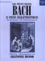 Carl-Philipp Emanuel Bach - 23 Pièces Caractéristiques - Partition - di-arezzo.fr
