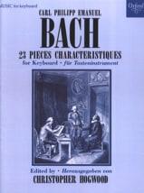 23 Pièces Caractéristiques Carl-Philipp Emanuel Bach laflutedepan.com