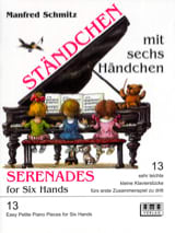 Manfred Schmitz - Lullabies with 6 Hands - Sheet Music - di-arezzo.co.uk