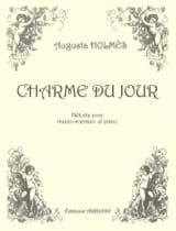 Charme du Jour Augusta Holmès Partition Mélodies - laflutedepan