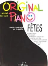 Original Piano Fêtes Coz Michel Le Partition Piano - laflutedepan.com