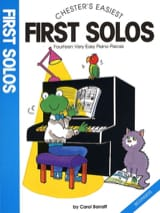First Solos Carol Barratt Partition Piano - laflutedepan.com