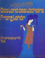 Franz Lehar - Das Land des Lachelns - Partition - di-arezzo.fr