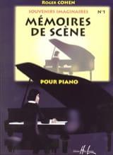 Roger Cohen - Mémoires de Scène - Partition - di-arezzo.fr