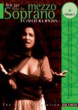 Arie Per Mezzo-Soprano Volume 2 - Partition - laflutedepan.com