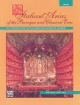 Italian Arias Of The Baroque And Classical Eras. Voix Moyenne laflutedepan.com