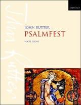Psalmfest John Rutter Partition Chœur - laflutedepan.com